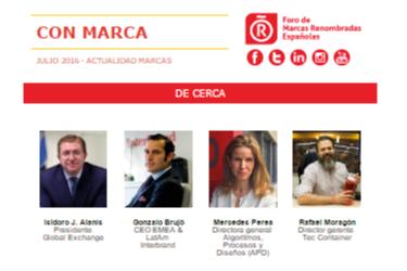 Julio 2016 – Actualidad Marcas