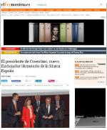 El presidente de Cosentino, nuevo Embajador Honorario de la Marca España