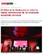 El Atlas de la Moda pone en valor la fuerza internacional de las empresas españolas de moda
