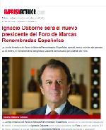 Ignacio Osborne será el nuevo presidente del Foro de Marcas Renombradas Españolas